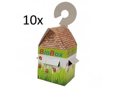 Biobox uitzetdoosjes voor nuttige insecten