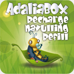 Navulling adaliabox