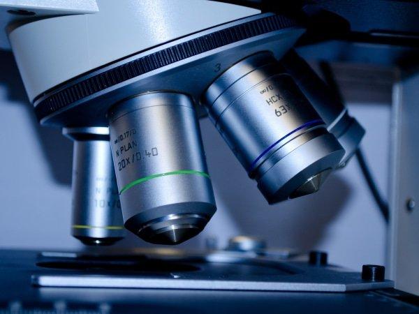 productiecontrole microscoop