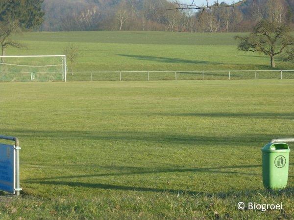 sportvelden behandelen tegen engerlingen